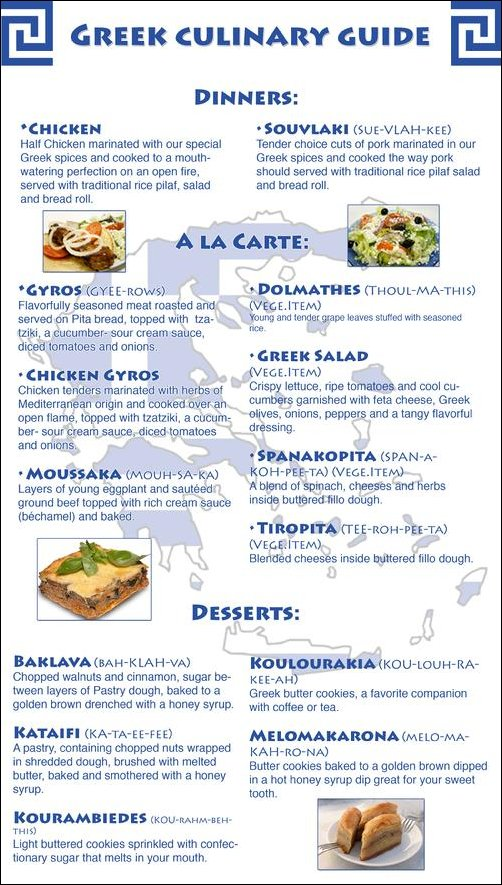 [Greek Food]